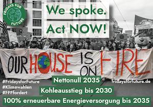 Klimastreik Waren @ Neuer Markt / Amtsbrink