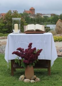 Gottesdienst am Himmelfahrtstag @ Schaugarten am Tiefwarensee