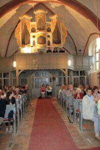 ORGELTÖRN 2021 - Müritzregion - Orgelfahrten übers Land @ Dorfkirche Zettemin