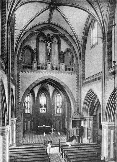 Georgenkirche Alte Innenansicht - Kirchengemeinde St. Georgen Waren (Müritz)