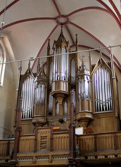 Lütgemüller-Orgel - Kirchengemeinde St. Georgen Waren (Müritz)