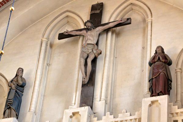Innenansicht - Kirchengemeinde St. Georgen Waren (Müritz)