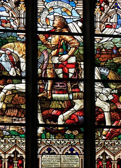 Fensterbild - Kirchengemeinde St. Georgen Waren (Müritz)