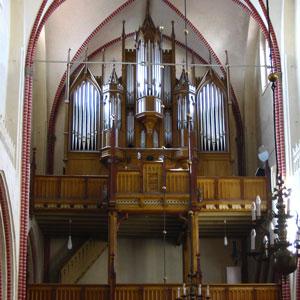 Orgelmusik im Rahmen der Offenen Kirche